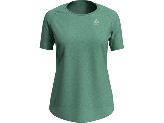 Odlo Millennium Element T-Shirt S/S Crew Neck Women, creme de menthe melange